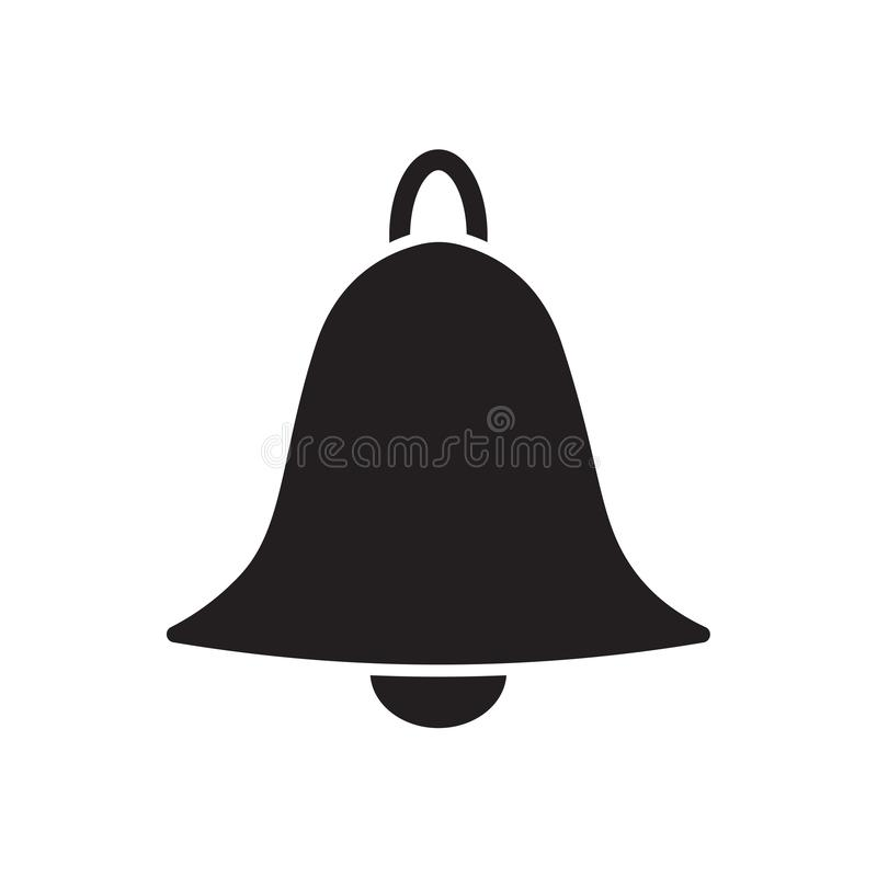 Het pictogram van de alarmklok royalty-vrije illustratie