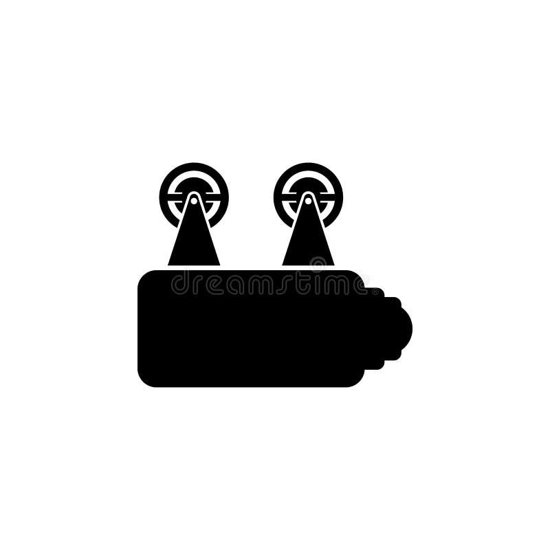 het pictogram van de bioskoopprojector Element van bioskooppictogram Grafisch het ontwerppictogram van de premiekwaliteit Tekens  stock illustratie