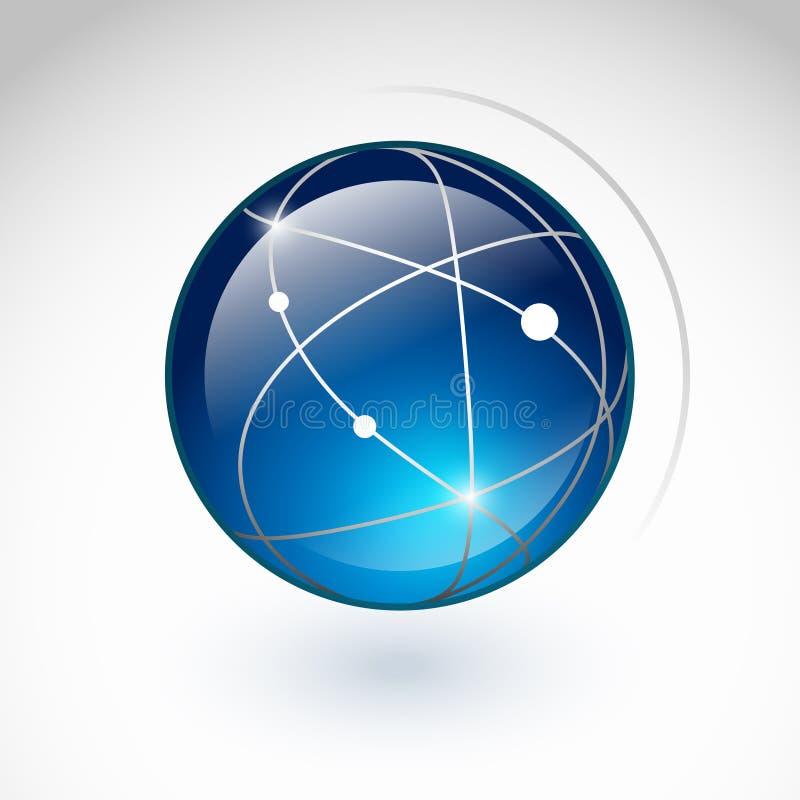 Het pictogram van de bol