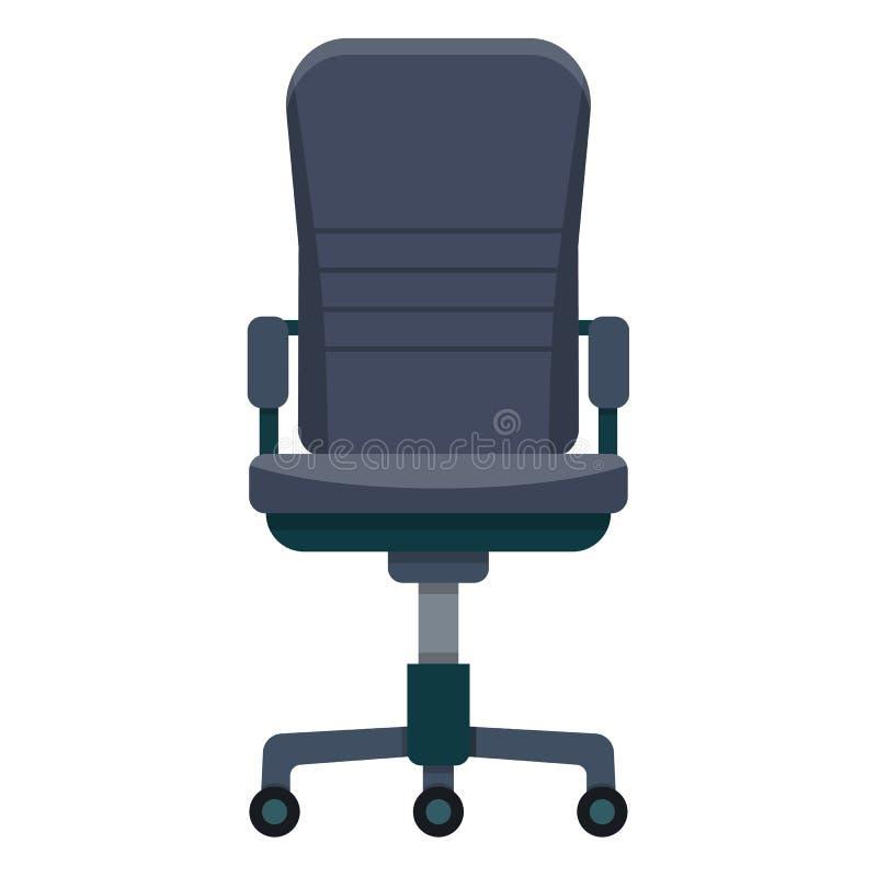 het pictogram van de bureaustoel royalty-vrije illustratie