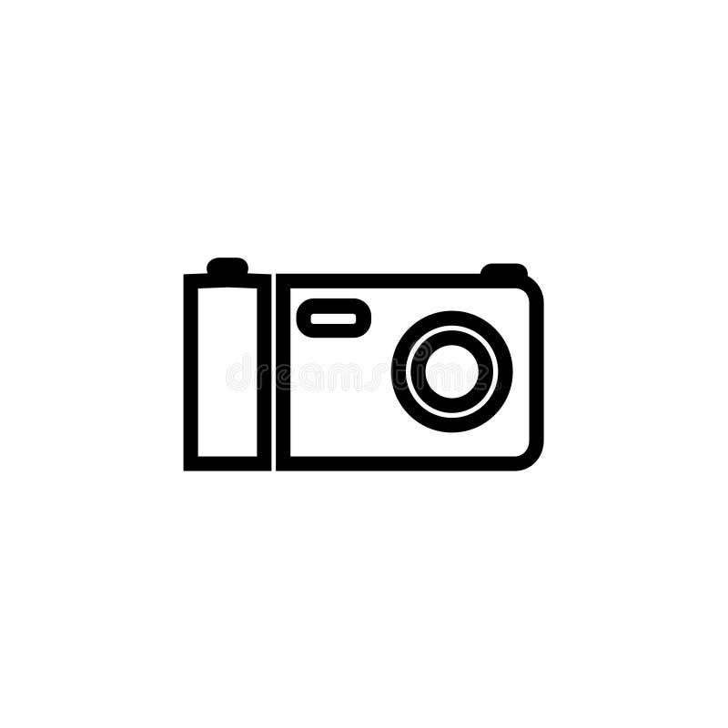 Het pictogram van de camerafilm vector illustratie
