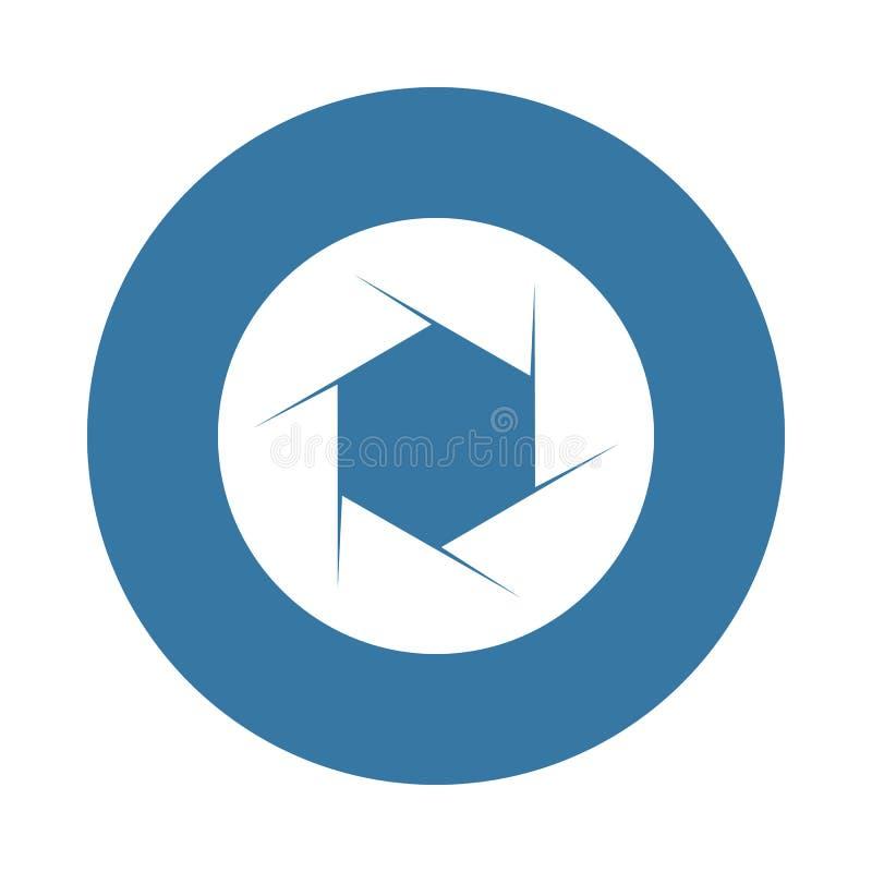 Het pictogram van de cameranadruk Element van fotopictogrammen voor mobiel concept en Web apps Het pictogram van de de cameranadr stock illustratie