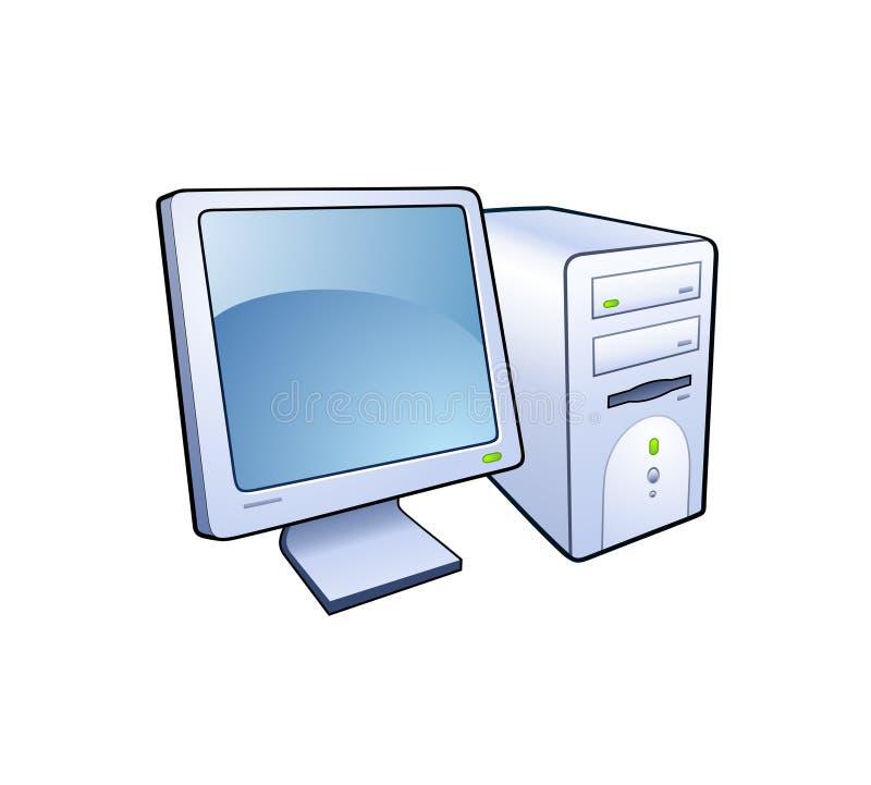 Het pictogram van de computer royalty-vrije illustratie