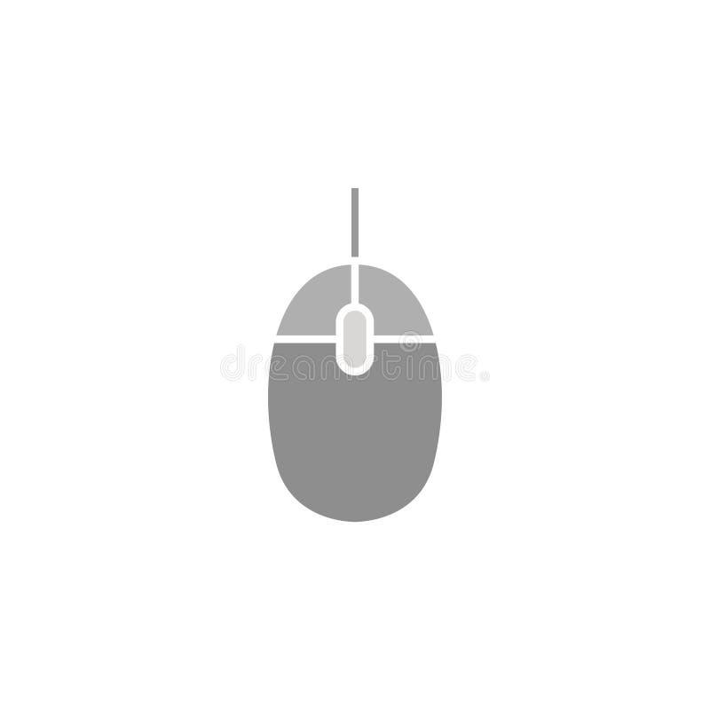 Het pictogram van de computermuis Elektronika Computersymbool Vector illustratie Eps 10 royalty-vrije illustratie