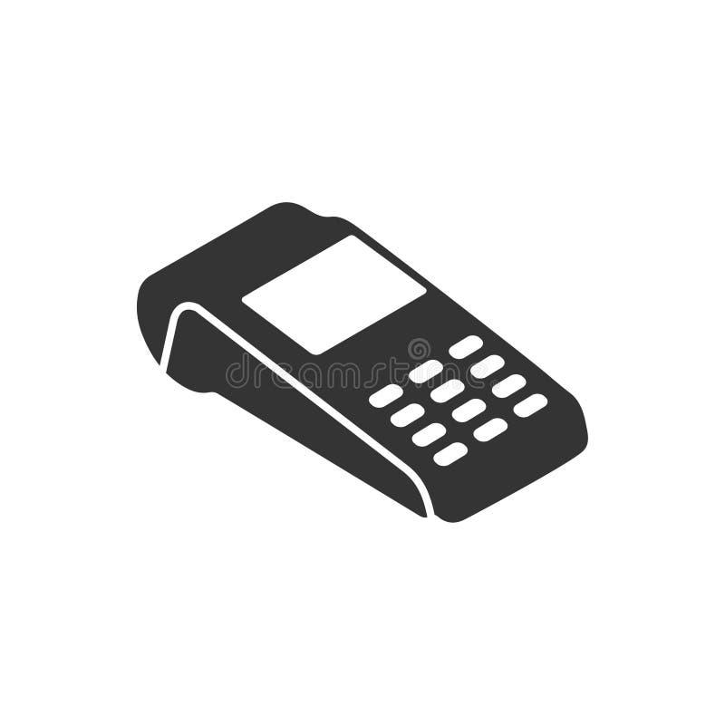 Het Pictogram van de Creditcardmachine vector illustratie