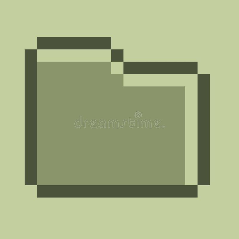 het pictogram van de dossiermanager stock foto's