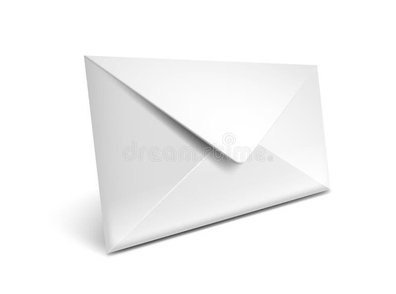 Het pictogram van de envelop vector illustratie