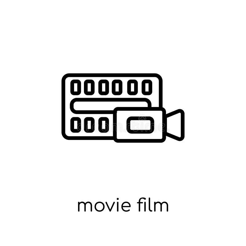 Het Pictogram van de filmfilm  stock illustratie