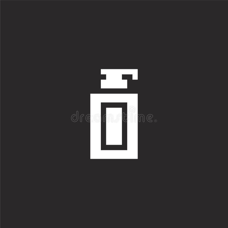 Het pictogram van de handzeep Het gevulde pictogram van de handzeep voor websiteontwerp en mobiel, app ontwikkeling het pictogram stock illustratie