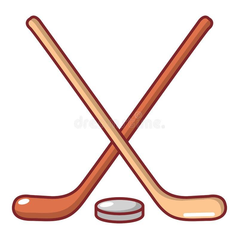 Download Het Pictogram Van De Hockeystok, Beeldverhaalstijl Vector Illustratie - Illustratie bestaande uit blad, grafisch: 107708059
