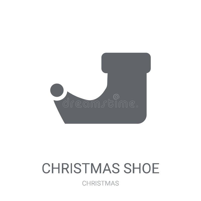 het pictogram van de Kerstmisschoen  royalty-vrije illustratie