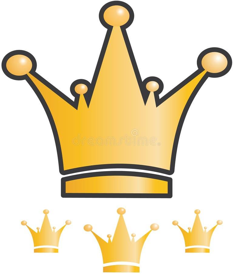 Het pictogram van de kroon