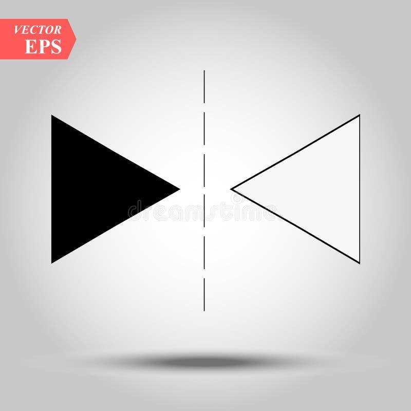 het pictogram van de lijntoewijzing Element van Webpictogrammen Grafisch het ontwerppictogram van de premiekwaliteit Tekens en sy vector illustratie