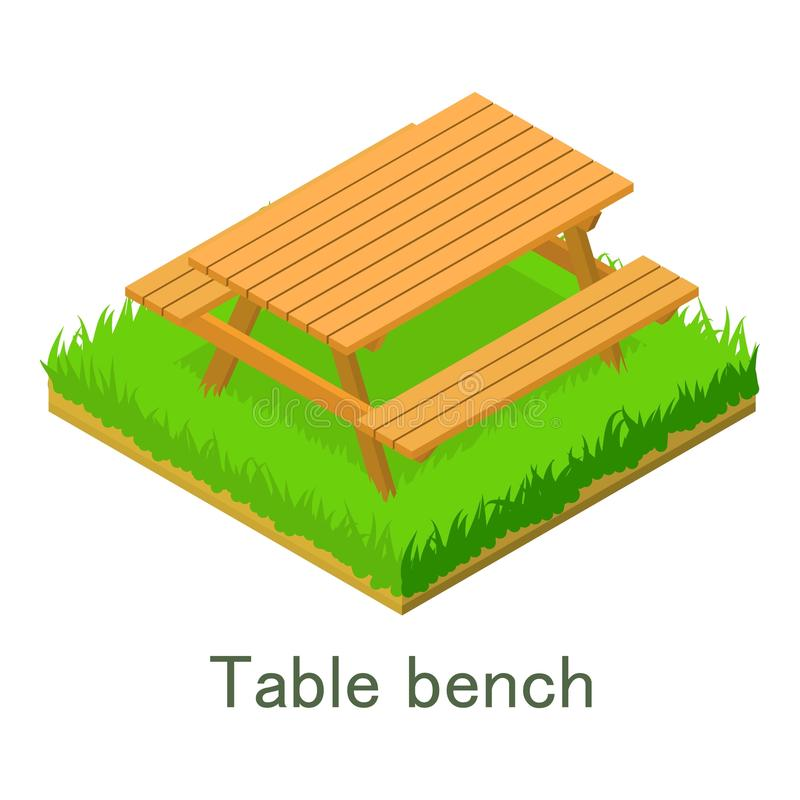 Download Het Pictogram Van De Lijstbank, Isometrische Stijl Vector Illustratie - Illustratie bestaande uit illustratie, struik: 107708617