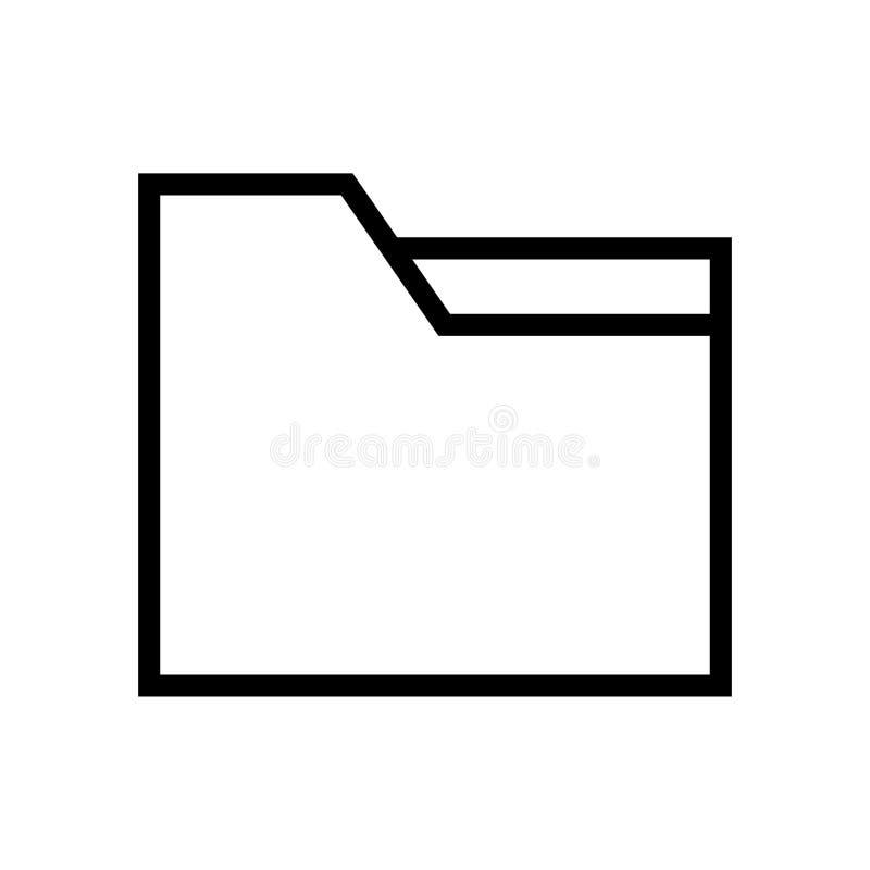 Het pictogram van de omslaglijn royalty-vrije illustratie