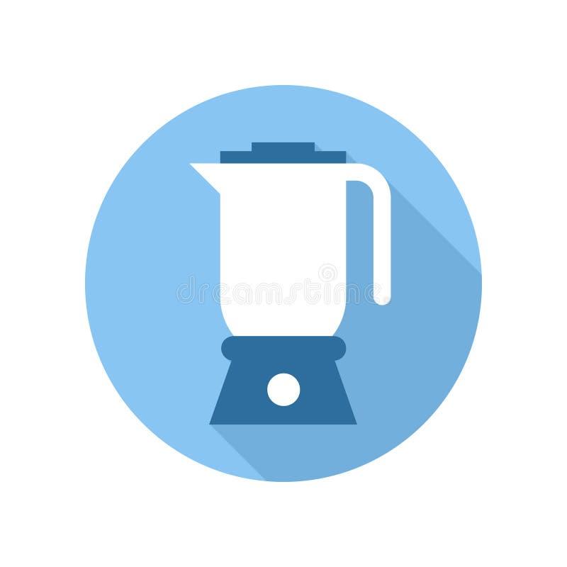 Het Pictogram van de onderdompelingsmixer De apparatuur van de keuken Teken en symbool stock illustratie
