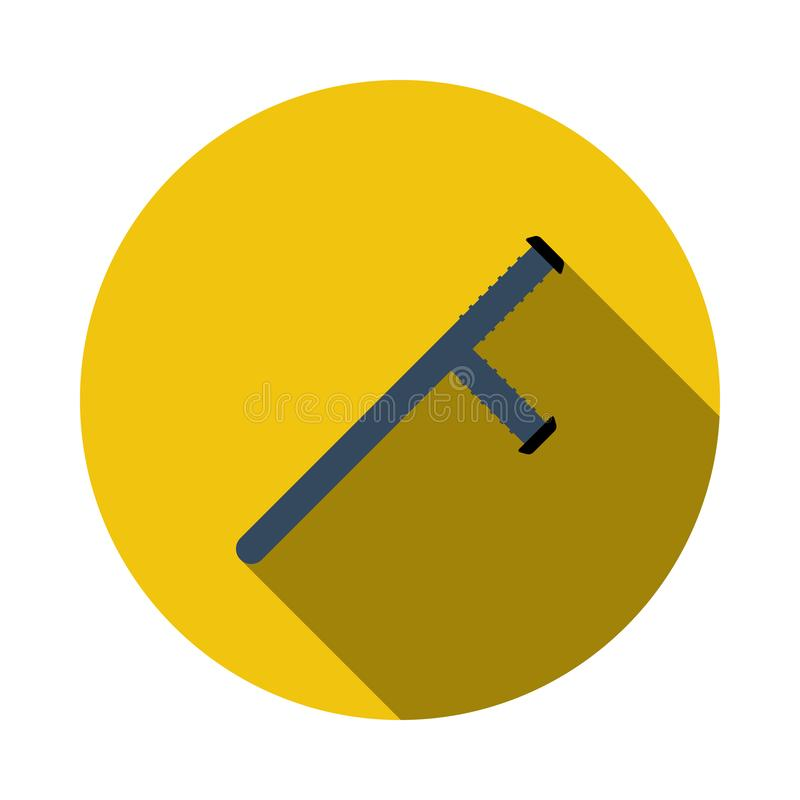 Het pictogram van de politieknuppel royalty-vrije illustratie