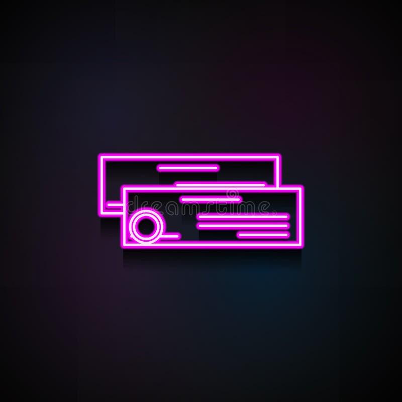 Het pictogram van de postcontrole Element van logistiekpictogrammen voor mobiel concept en Web apps Het de controlepictogram van  royalty-vrije illustratie
