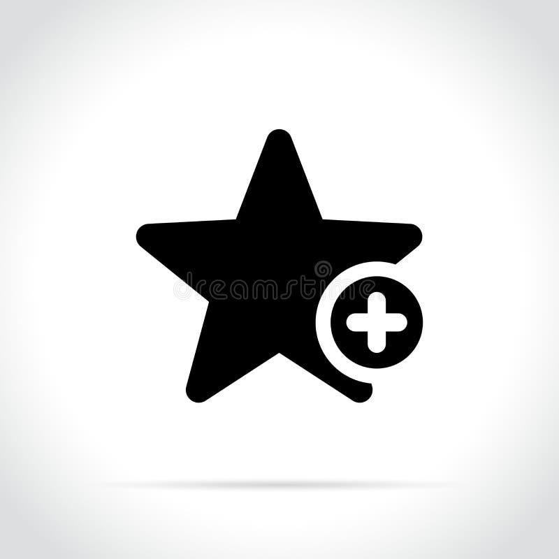 Het pictogram van de referentiester op witte achtergrond stock illustratie