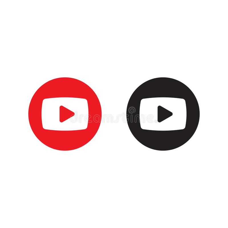 Het pictogram van de spelknoop Videopictogram, vlak vectordieteken op witte achtergrond wordt geïsoleerd vector illustratie