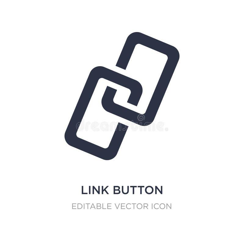 het pictogram van de verbindingsknoop op witte achtergrond Eenvoudige elementenillustratie van UI-concept vector illustratie