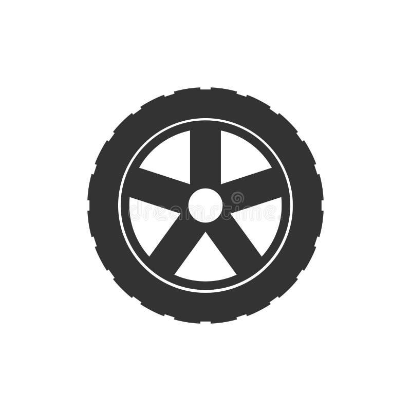 Het pictogram van de vervoerband Vectorillustratie, vlak ontwerp royalty-vrije illustratie