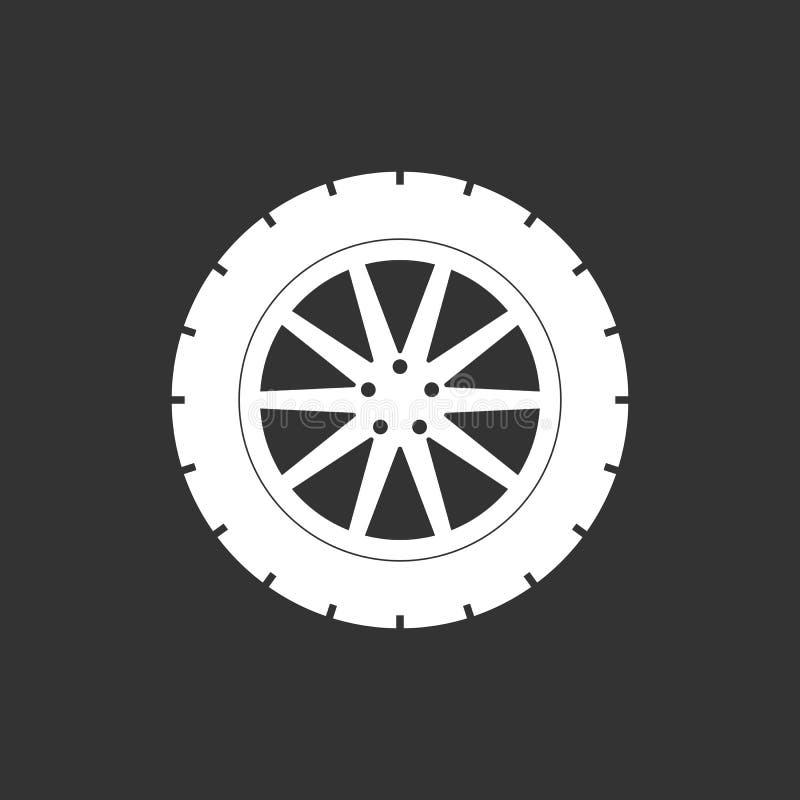Het pictogram van de vervoerband Vectorillustratie, vlak ontwerp vector illustratie