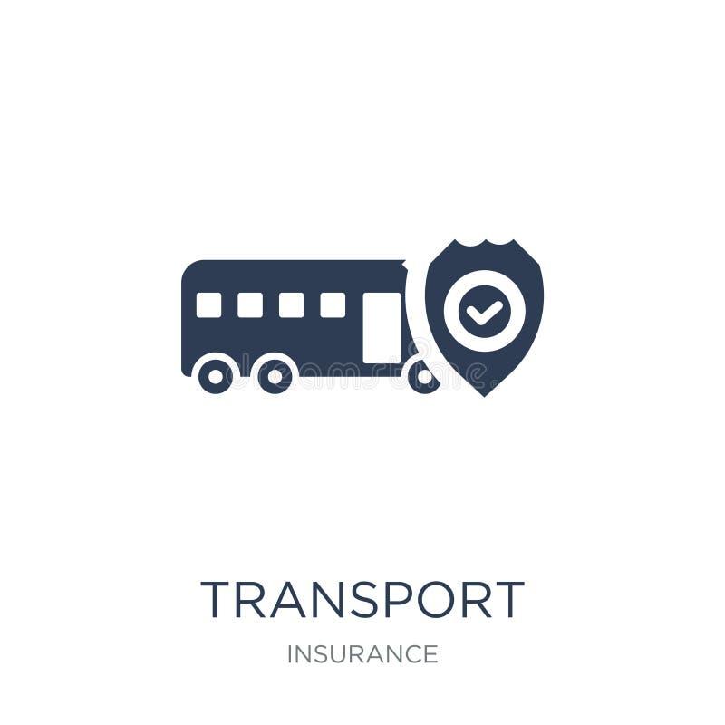 Het pictogram van de vervoerverzekering  stock illustratie