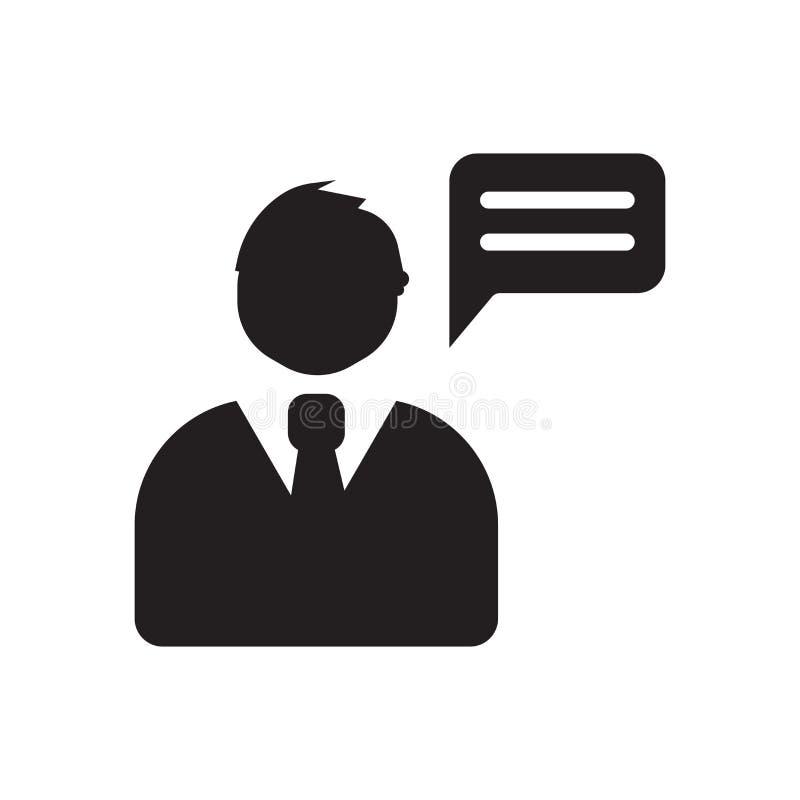 het pictogram van de verzekeringsraad In het embleemconcept van de verzekeringsraad op w vector illustratie