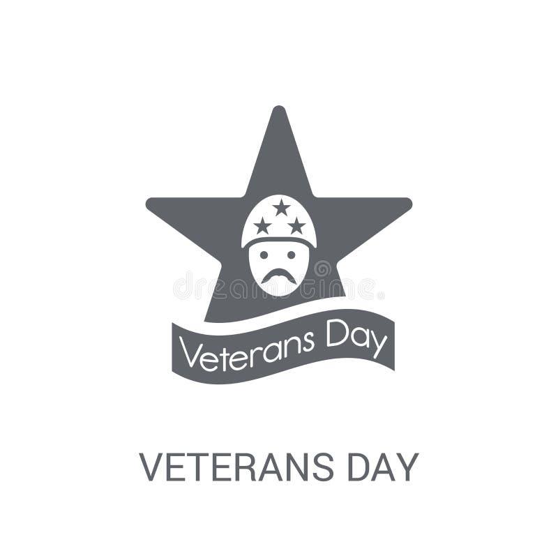 Het pictogram van de veteranendag  vector illustratie