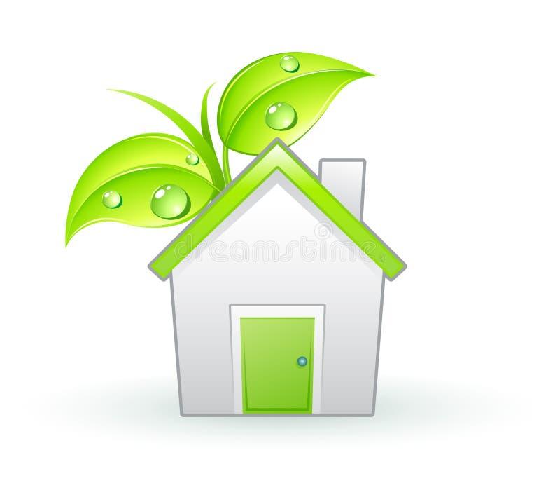 Het pictogram van Eco stock illustratie