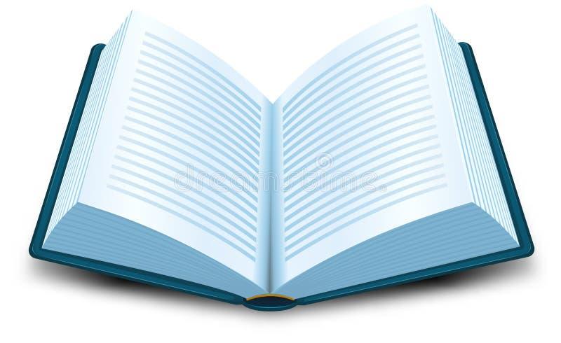 Het Pictogram van het boek vector illustratie. Illustratie