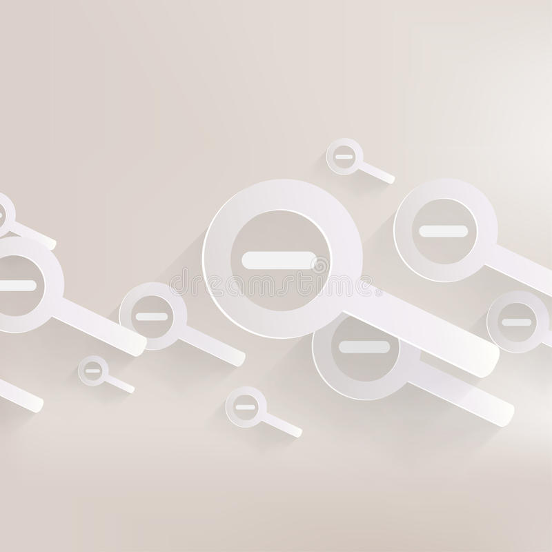 Het pictogram van het gezoem uit Web royalty-vrije illustratie