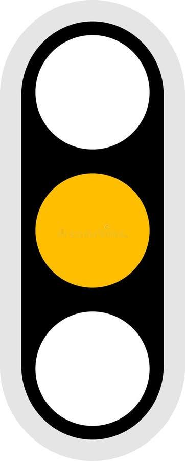 Het Pictogram van het verkeerslicht vector illustratie