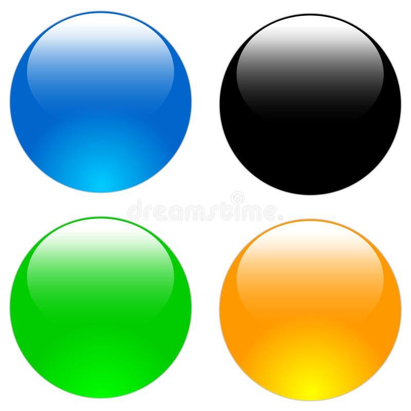 Het pictogram van het Web stock illustratie