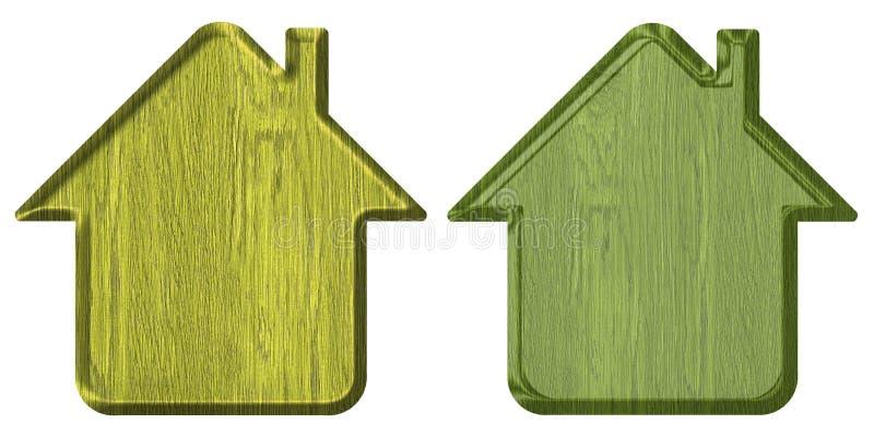 Het pictogram van het huis stock illustratie