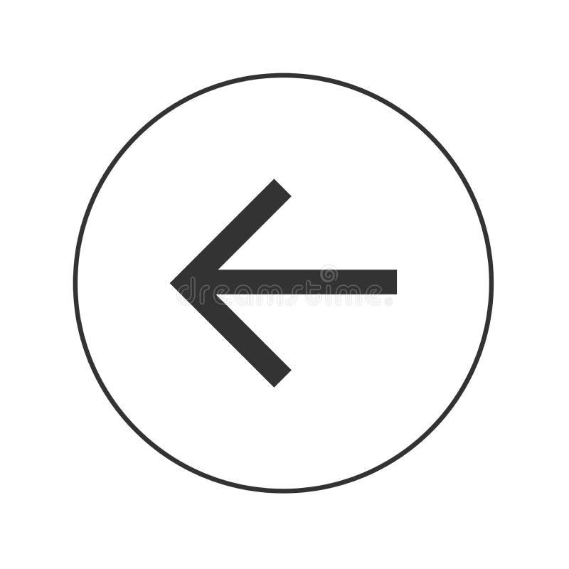 Het pictogram van het pijlweb royalty-vrije stock foto