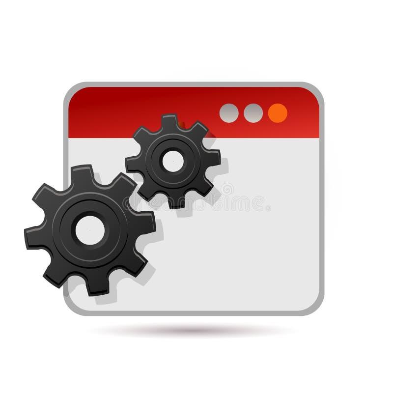 Het pictogram van toestellen vector illustratie