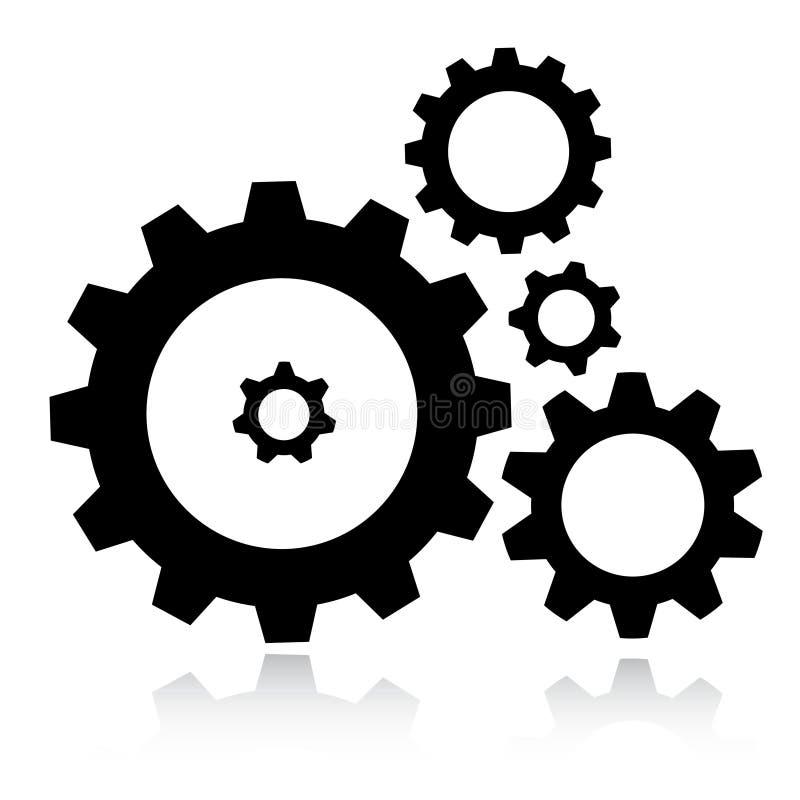 Het pictogram van toestellen royalty-vrije stock afbeelding
