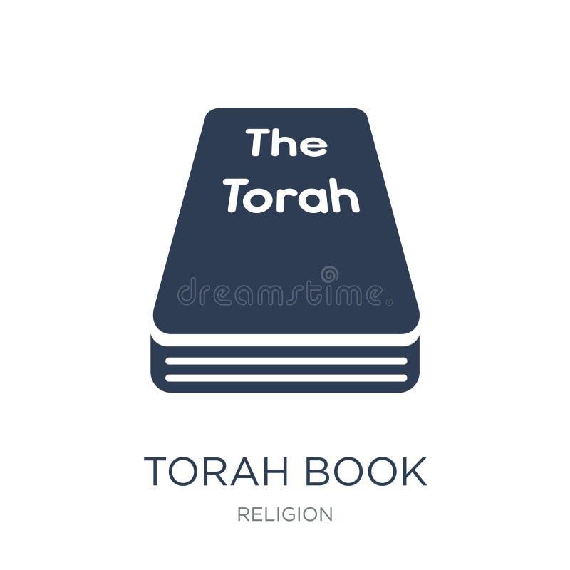 Het pictogram van het Torahboek  royalty-vrije illustratie