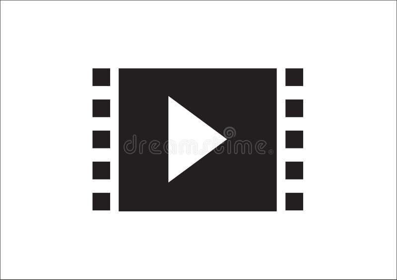 Het pictogram van verschillende media stock illustratie