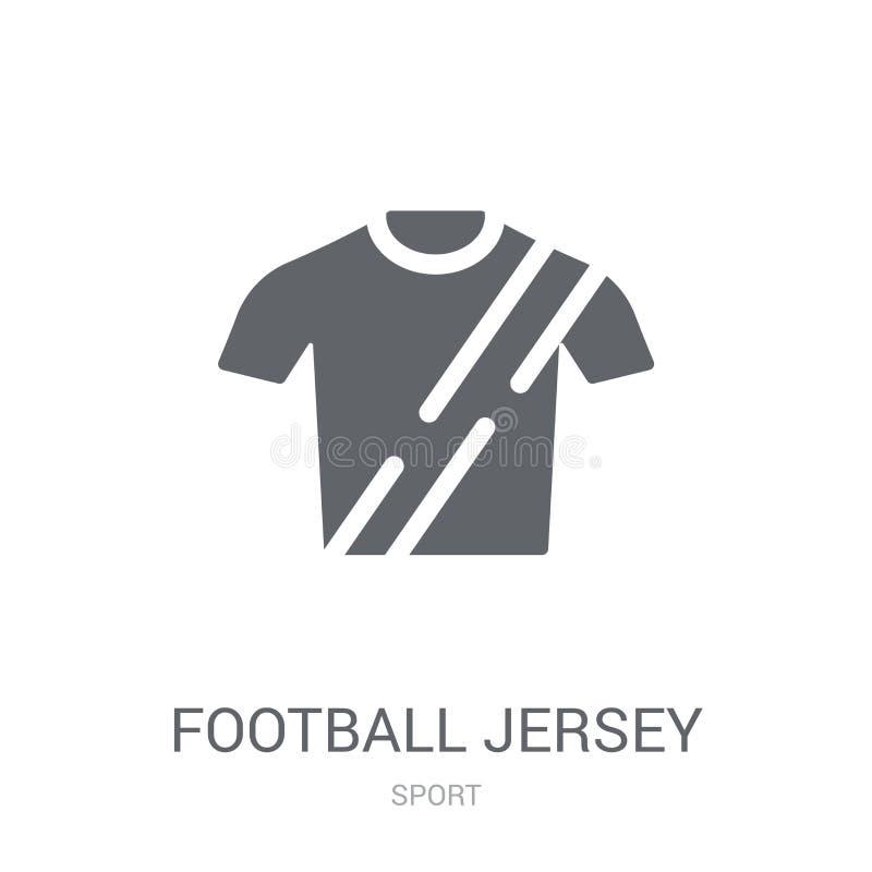 Het pictogram van voetbaljersey  royalty-vrije illustratie