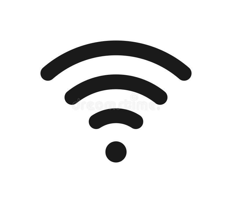 Het pictogram van Wifi royalty-vrije illustratie