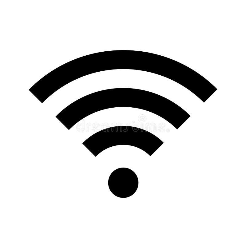Het pictogram van Wifi stock illustratie