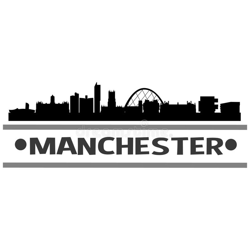 Het Pictogram Vectorart design van Manchester vector illustratie