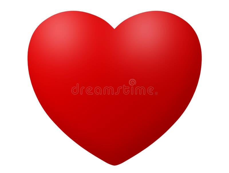 Het pictogramillustratie van het hart stock illustratie