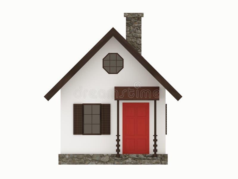 Het pictogramillustratie van het huis vector illustratie