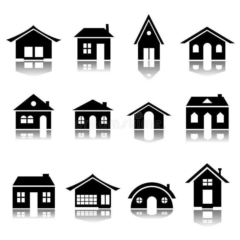 Het pictogramreeks van het huis