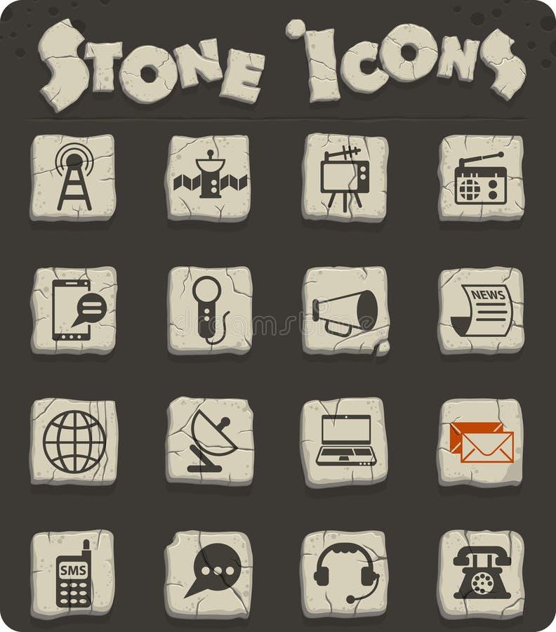 Het pictogramReeks van media royalty-vrije illustratie