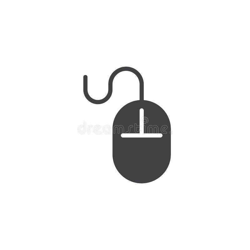 Het pictogramvector van de computermuis vector illustratie